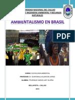 Ambientalismo en Brasil