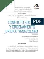Conflicto Social y Ordenamiento Juridico Venezolano