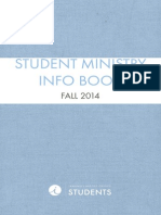 Student Ministry Info Book