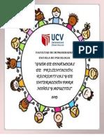 Guia de Dinamicas. Programas de Promocion y Prevencion