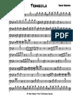 Tranquila - Trombone