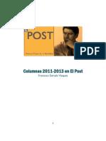 ESTRADA Columnas 2011 2013 en El Post