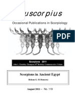 Scorpions in Ancient Egypt