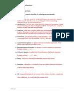 June Exam Review Part i i Solutions