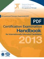 Cert Exam Handbook IEC
