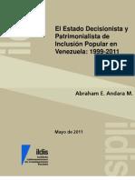 DocumentoEstadoDecisionistaPatrimonialistaAndara