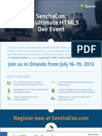 HTML5 Mobile Development Cheat Sheet