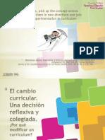 Inn-TDCurricular3 El cambio curricular y reflexión colegiada-S1