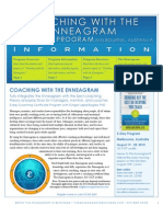 Enneagram Coaching Melbourne August 2013