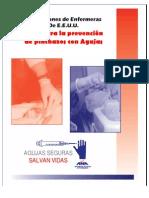 GUIA PARA LA PREVENCIÓN DE PINCHAZOS CON AGUJAS
