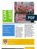 Climate Justice Fact Sheet - Divest Harvard