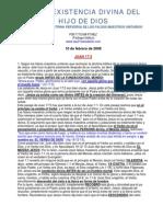 LA PREEXISTENCIA DIVINA DEL HIJO DE DIOS.pdf