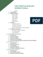Informe Cristalografia Estructural
