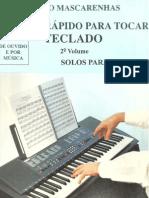 método rápido para tocar teclado vol. 2 (mário mascarenhas)