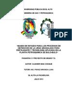 BASES DE ESTUDIO PARA LOS PROCESOS DE OBTENCION DE LA UREA GRANULADA PARA FERTILIZANTE Y TECNOLOGIA APLICADA EN LA PLANTA PETROQUIMICA DE BULO-BULO.doc