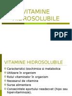 Curs vitamine hidrosolubile