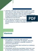 Curs vitamine liposolubile