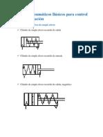 Circuitos Neumáticos Básicos para control y automatización