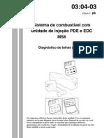 unidade de injeção PDE e EDC