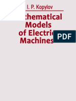 Mathematical Models of Electric Machines