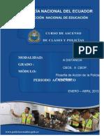 Modulo No. 4 Filosofia de Accion-policia Comunitaria II- 2013