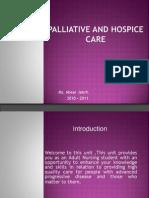 Palliative Care Module 1