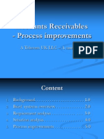 Accounts Receivables process- Telecom co.