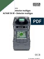 Manual Altair5X 10116951 01 ES