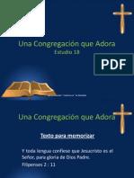 Una Congregación que Adora - Estudio 18