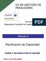 DPSP M04 C2 Ejecutando El Plan de Capacidad 2013