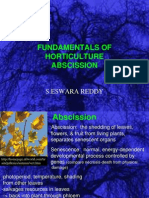 Abscission in Horticulture Crops