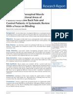 Multifidus and Paraespinal Sist Rev