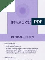 Sprain & Strain