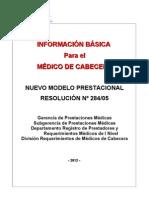 Cuadernillo para Médicos de Cabecera