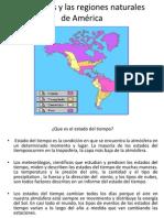 Las Estaciones Del Año En El Continente Amercano