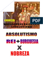 Aula de Historia - Prof Oli - ABSOLUTISMO - 17-06-2011