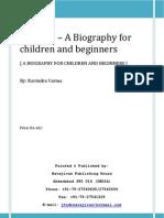 Gandhi Biography for Beginners