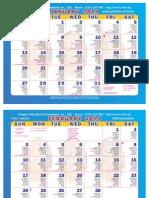 This Year Calendar
