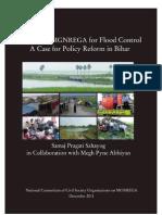 Leveraging Mgnrega for Flood Control a Case Study Fr Policy Reform in Bihar