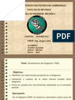 Interpretación del diagrama