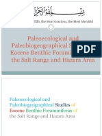 Paleoecological and Paleobiogeographical Studies of Eocene Benthic Foraminiferas