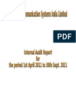 Final Internal Audit Report 12-ICSIL-Ver-Draft