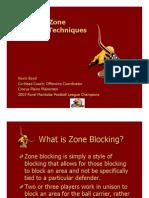 Zone Blocking Kevin Boyd