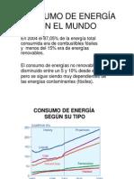 CONSUMO DE ENERGÍA