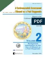 Ethanol as Fuel Oxigenate Vol2