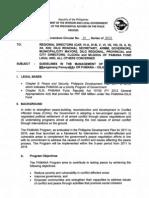 DILG & OPAPP Joint Memorandum for PAMANA