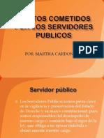 Delitos Cometidos Por Los Servidores Publicos