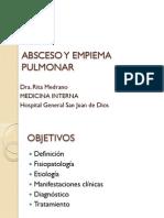 Absceso y Empiema Pulmonar
