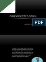 Examen de Heces Thevenon