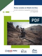 1 Reporte de Conflictos Sociales en Madre de Dios CRS USAID
